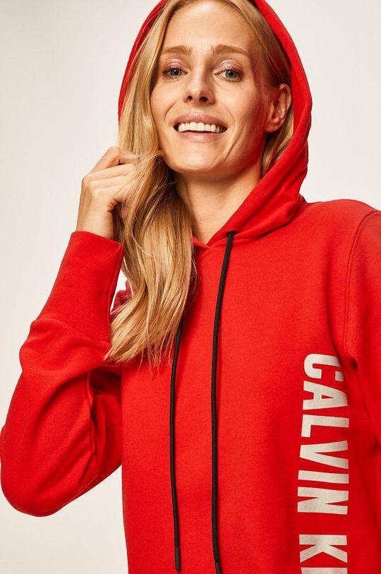 červená Calvin Klein Performance - Mikina