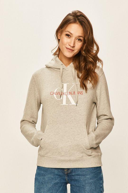 gri deschis Calvin Klein Jeans - Bluza De femei