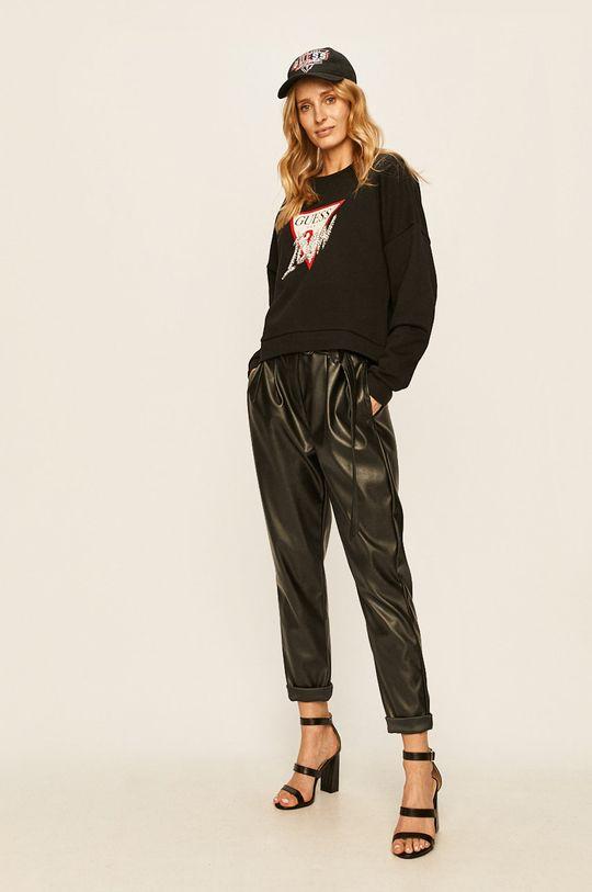 Guess Jeans - Bluza negru