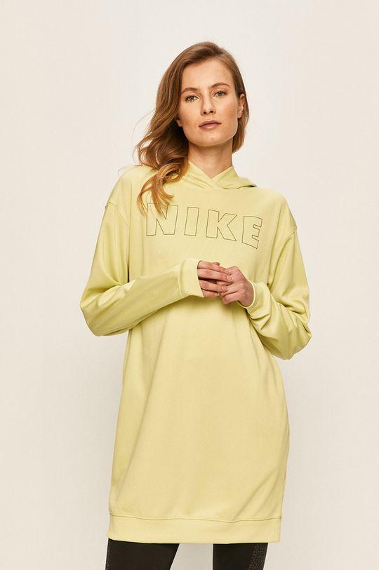 světle zelená Nike Sportswear - Mikina Dámský