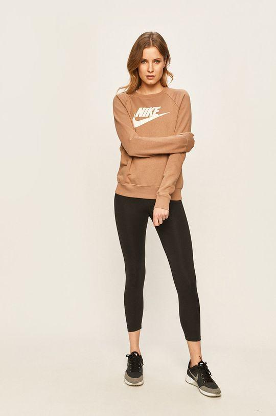 Nike Sportswear - Mikina kávová