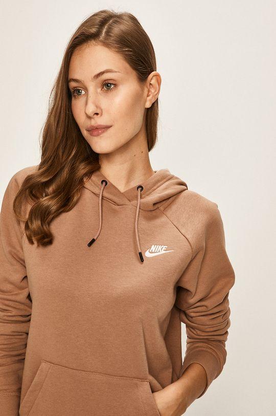 kávová Nike Sportswear - Mikina