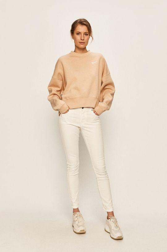 Nike Sportswear - Mikina pastelově růžová