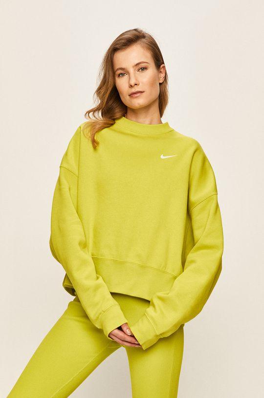olivová Nike Sportswear - Mikina Dámský
