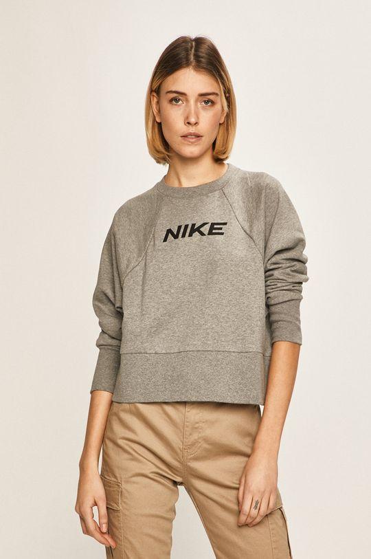 šedá Nike - Mikina Dámský