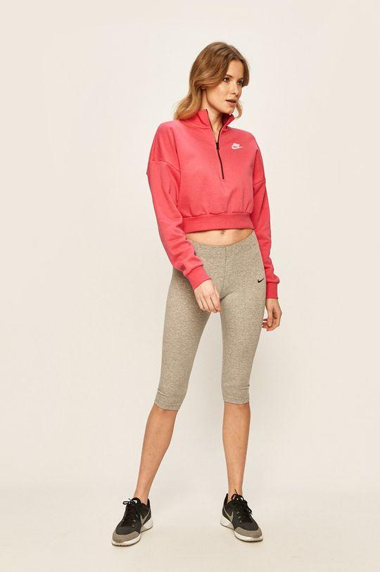 Nike Sportswear - Mikina růžová