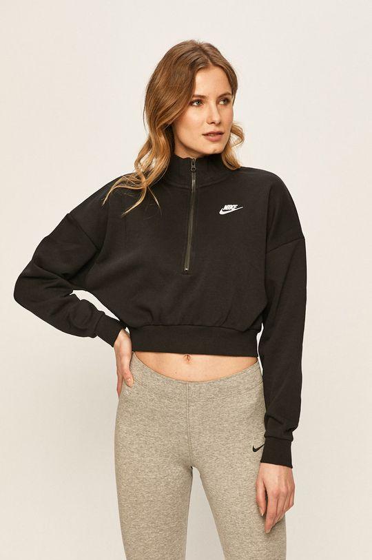 černá Nike Sportswear - Mikina Dámský