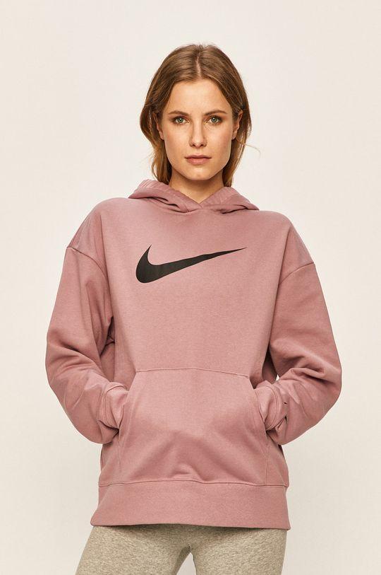 fialovo-růžová Nike Sportswear - Mikina Dámský