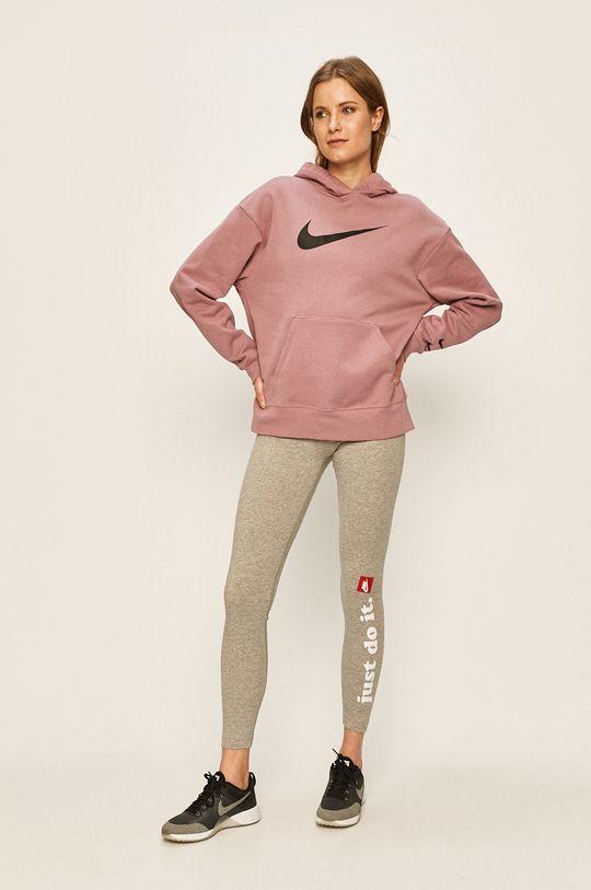 Nike Sportswear - Mikina fialovo-růžová