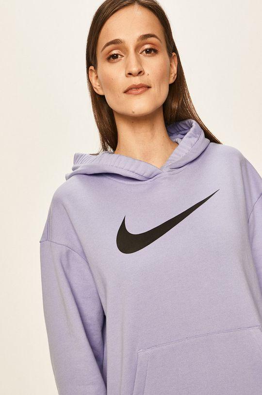 světle modrá Nike Sportswear - Mikina Dámský