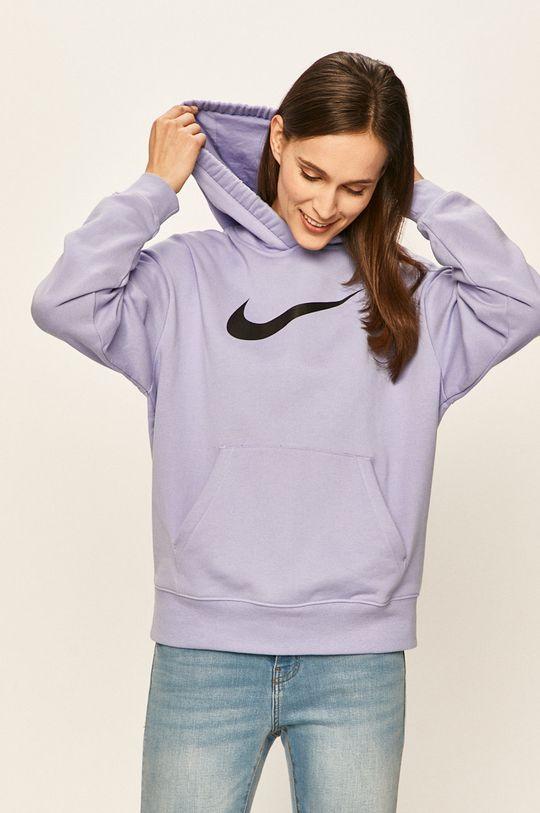 světle modrá Nike Sportswear - Mikina
