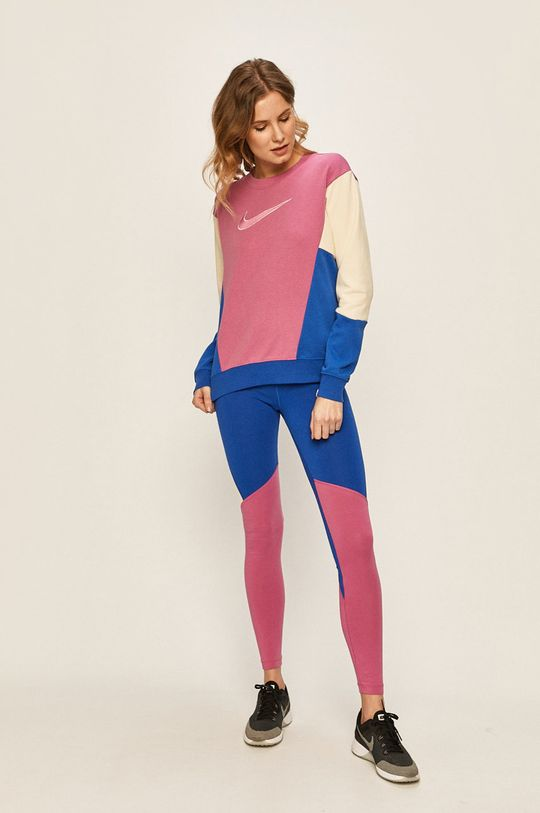 Nike Sportswear - Mikina fuchsiová