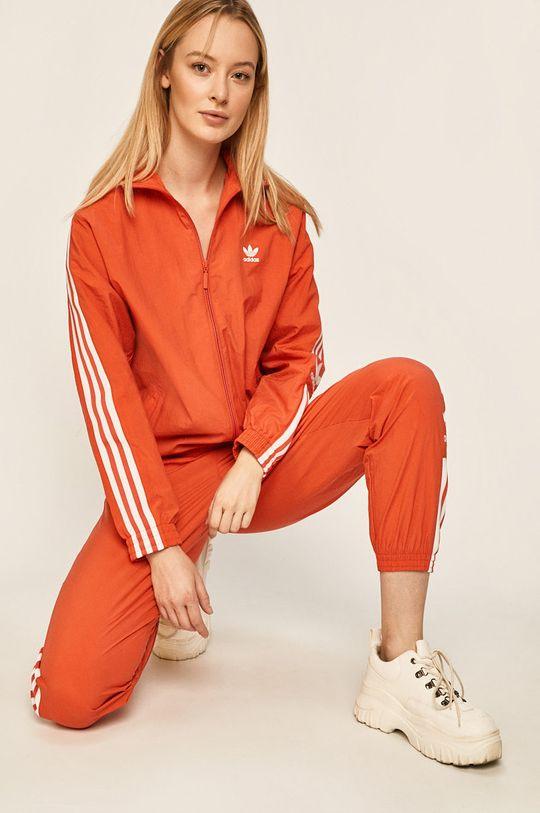 czerwony adidas Originals - Kurtka Damski