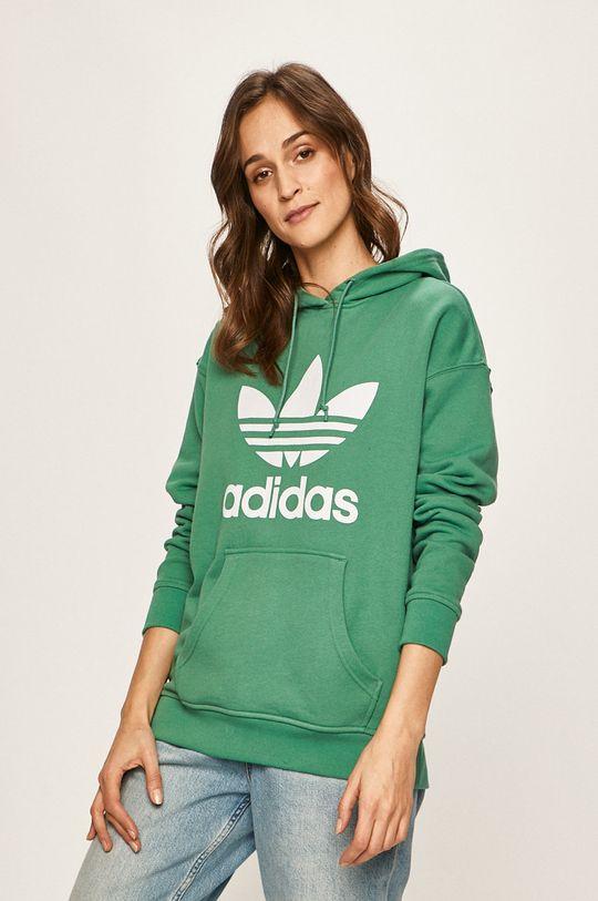 tyrkysová adidas Originals - Mikina Dámský
