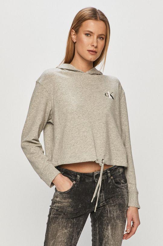 gri deschis Calvin Klein Underwear - Bluza CK One De femei