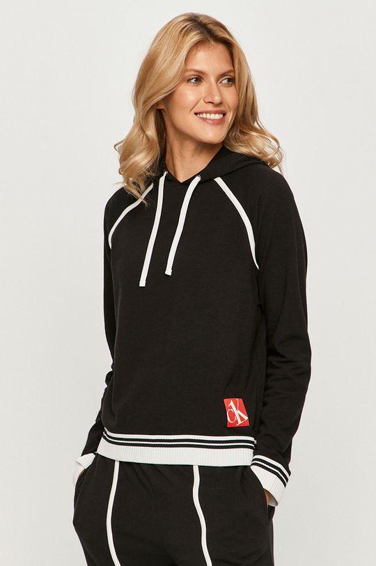 čierna Calvin Klein Underwear - Mikina Ck One Dámsky