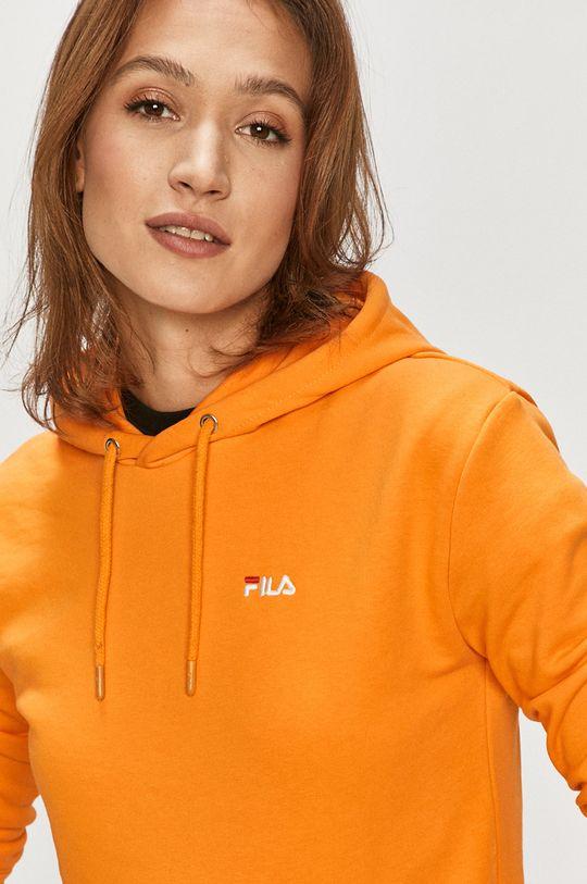 pomarańczowy Fila - Bluza