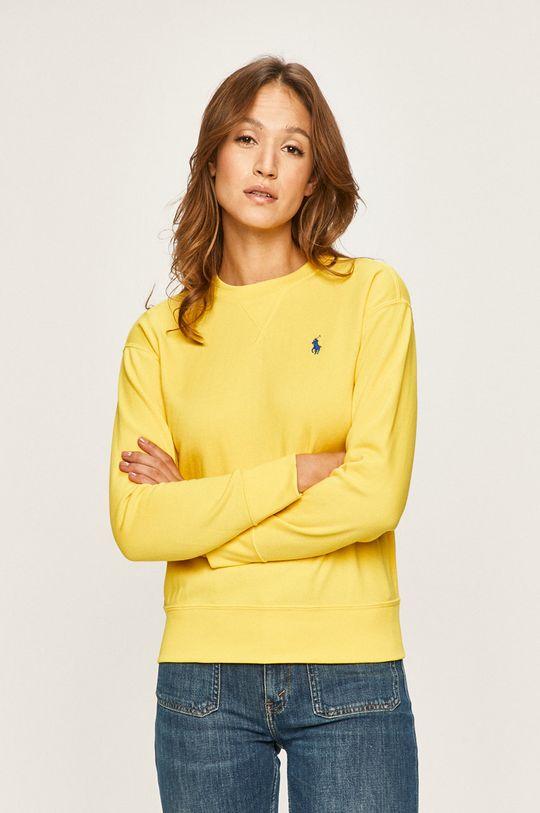 žlutá Polo Ralph Lauren - Mikina Dámský