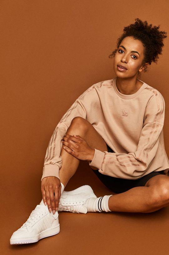 béžová adidas Originals - Mikina