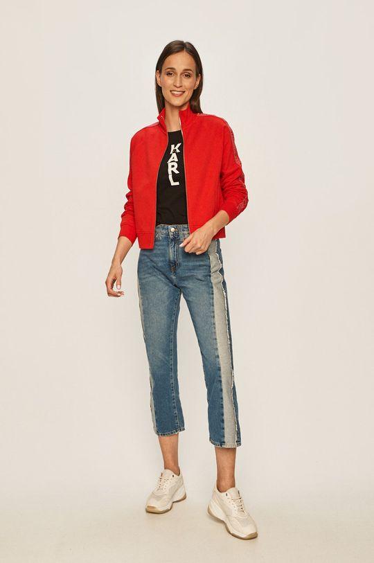 Karl Lagerfeld - Mikina červená
