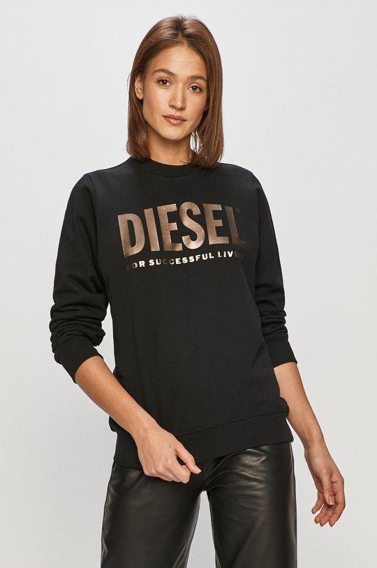 černá Diesel - Mikina Dámský
