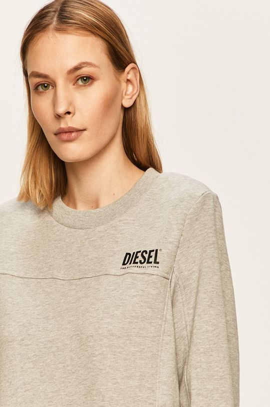 jasny szary Diesel - Bluza