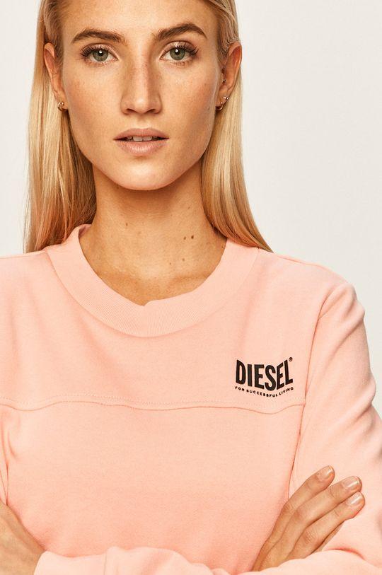 růžová Diesel - Mikina Dámský