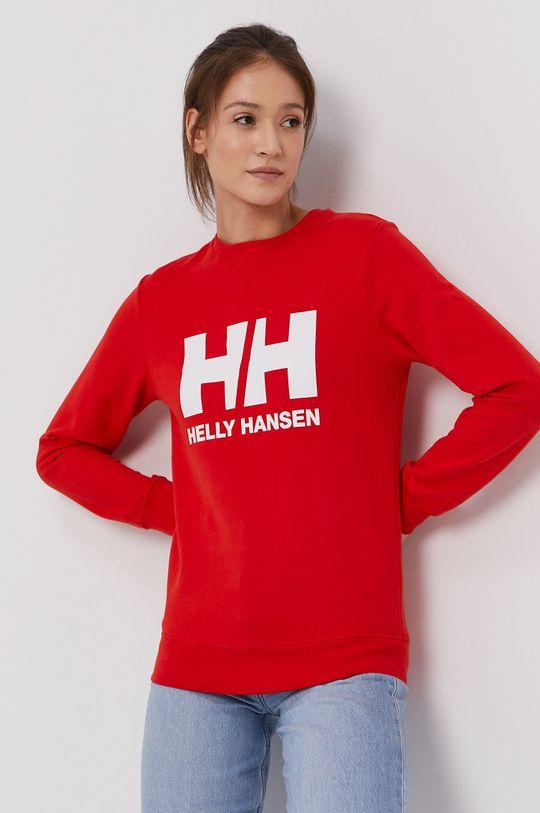czerwony Helly Hansen - Bluza Damski