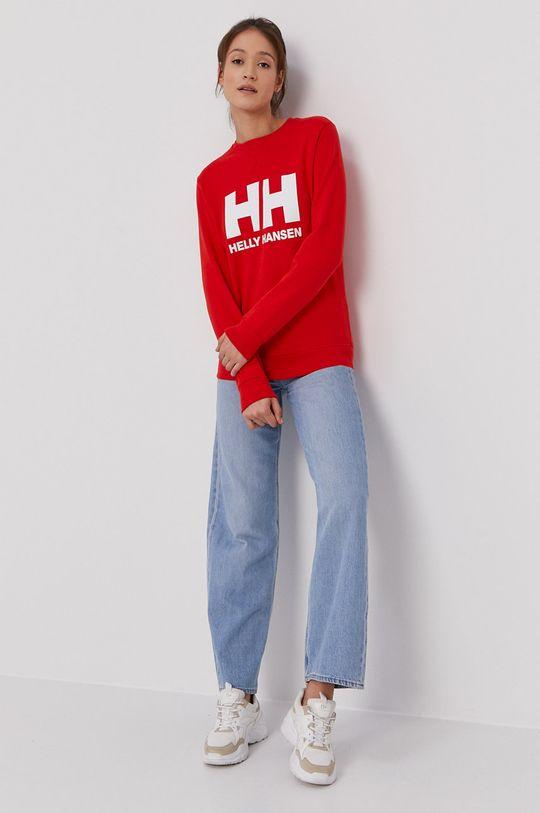 Helly Hansen - Bluza czerwony