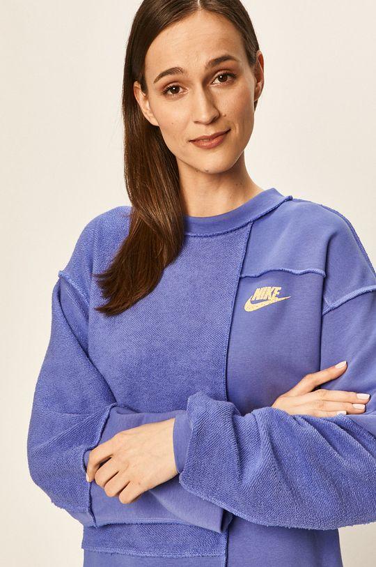 fialová Nike Sportswear - Mikina