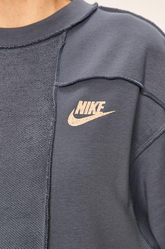 ocelová modrá Nike Sportswear - Mikina