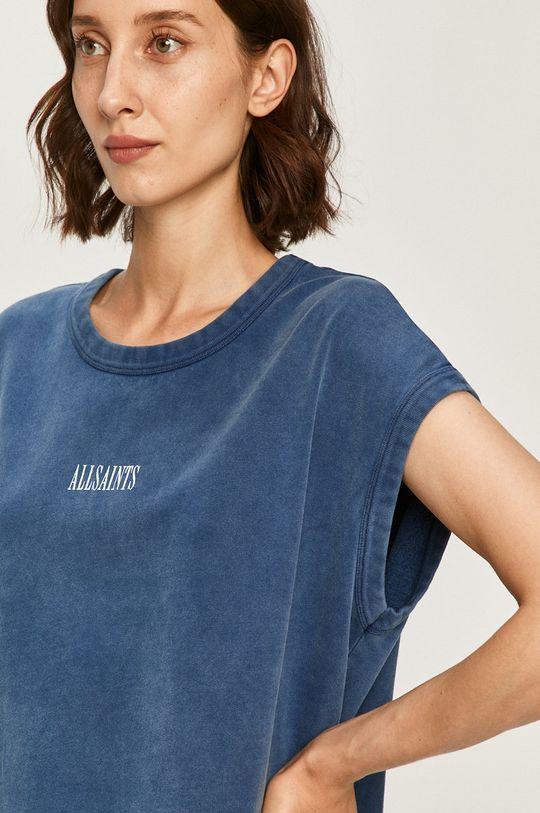 modrá AllSaints - Mikina