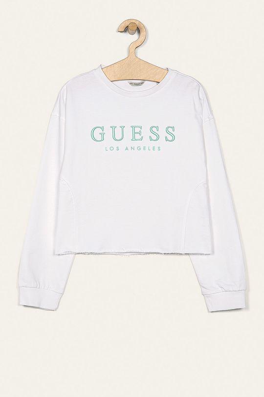 biały Guess Jeans - Bluza dziecięca 118-175 cm Dziewczęcy