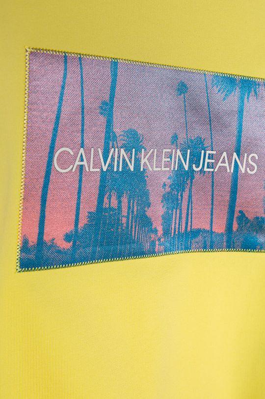 Calvin Klein Jeans - Detská mikina 116-176 cm  83% Bavlna, 2% Elastan, 15% Polyester