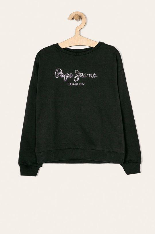 černá Pepe Jeans - Dětská mikina Dale 128-178/180 cm Dívčí