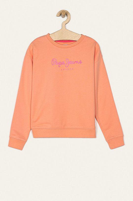 portocaliu Pepe Jeans - Bluza copii Rose 128-178 De fete