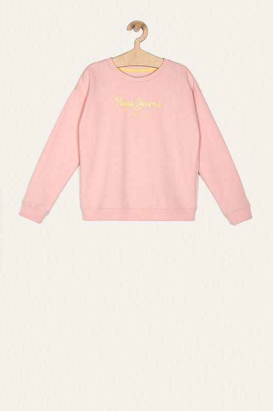 roz Pepe Jeans - Bluza copii Rose 128-178 De fete