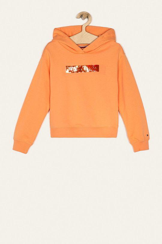 jasny pomarańczowy Tommy Hilfiger - Bluza dziecięca 128-176 cm Dziewczęcy