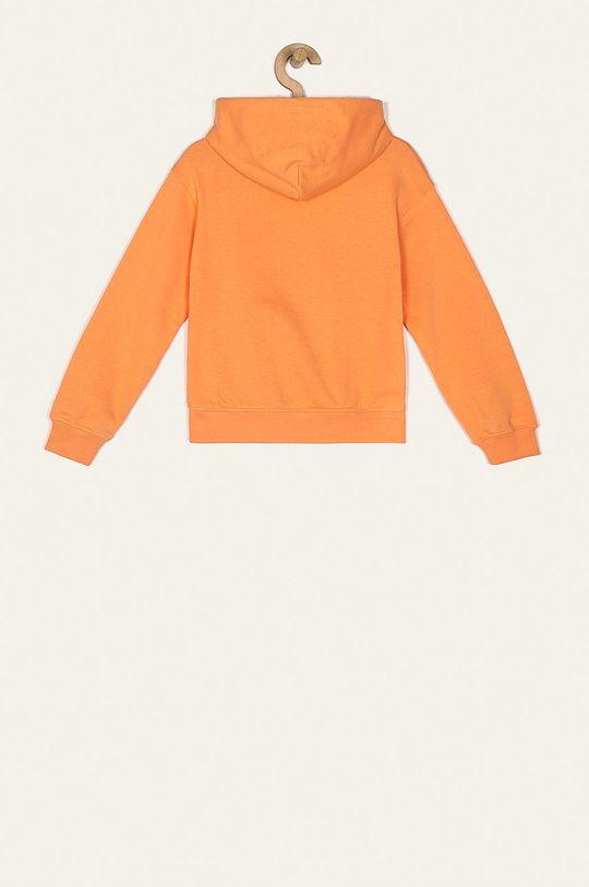 Tommy Hilfiger - Bluza dziecięca 128-176 cm jasny pomarańczowy