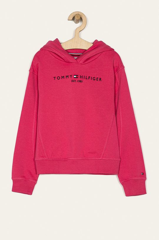 růžová Tommy Hilfiger - Dětská mikina 128-176 cm Dívčí