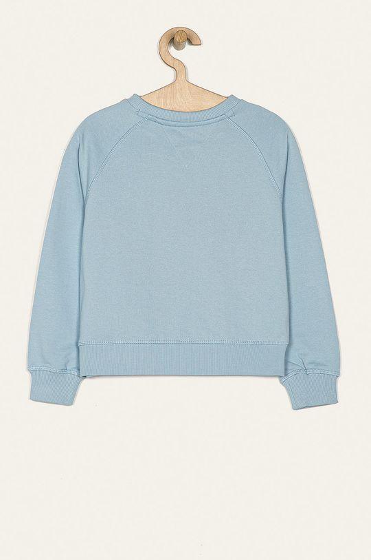 Tommy Hilfiger - Bluza copii 128-176 cm albastru deschis