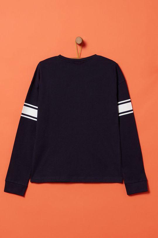 OVS - Detské tričko s dlhým rukávom 146-170 cm tmavomodrá