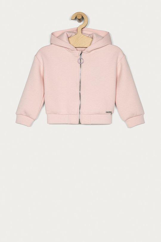 roz pastelat Guess Jeans - Bluza copii 92-122 cm De fete