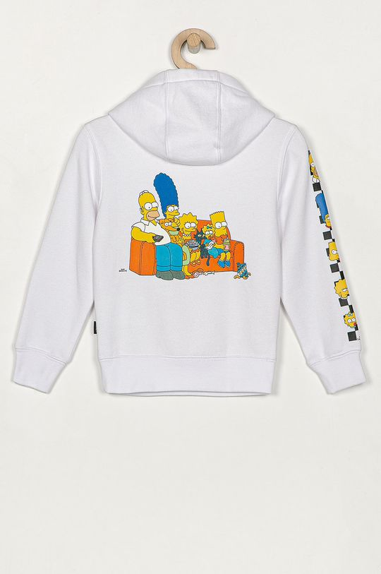 Vans - Detská mikina x The Simpsons biela