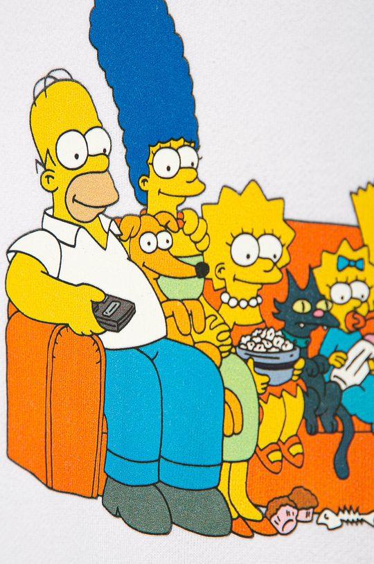 biela Vans - Detská mikina x The Simpsons