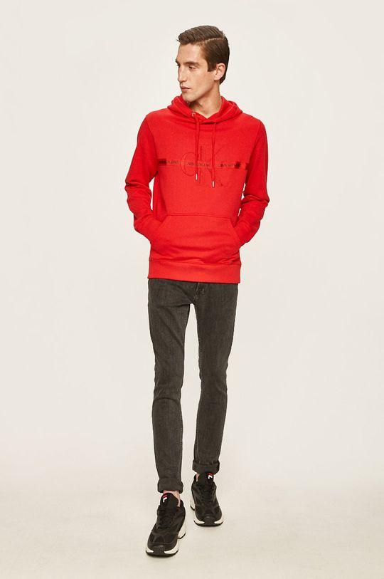 Calvin Klein Jeans - Bluza rosu