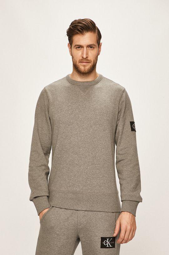 gri deschis Calvin Klein Jeans - Bluza De bărbați