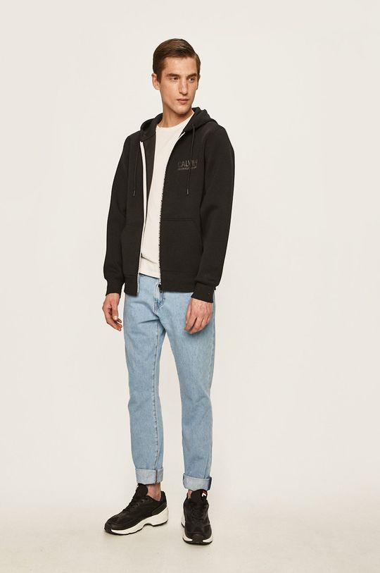 Calvin Klein Jeans - Mikina čierna