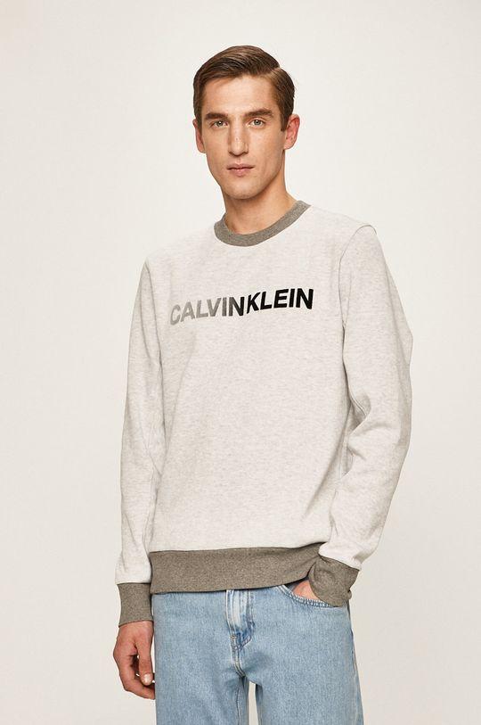 šedá Calvin Klein - Svetr Pánský