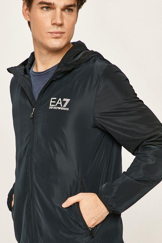tmavomodrá EA7 Emporio Armani - Bunda
